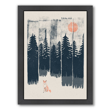 A Fox In The Wild by NDTank Framed Print - Americanflat