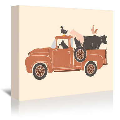 Farm Use by NDTank Wrapped Canvas - Wrapped Canvas - Americanflat