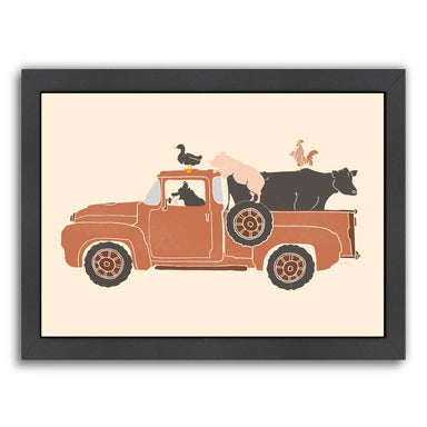 Farm Use by NDTank Framed Print - Americanflat
