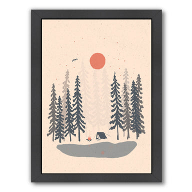 Feeling Small In The Morning by NDTank Framed Print - Americanflat
