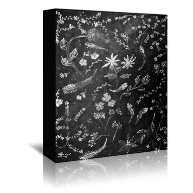 Flowers In Chalk by NDTank Wrapped Canvas - Wrapped Canvas - Americanflat