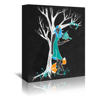 Keeper Of The Wood by NDTank Wrapped Canvas - Wrapped Canvas - Americanflat