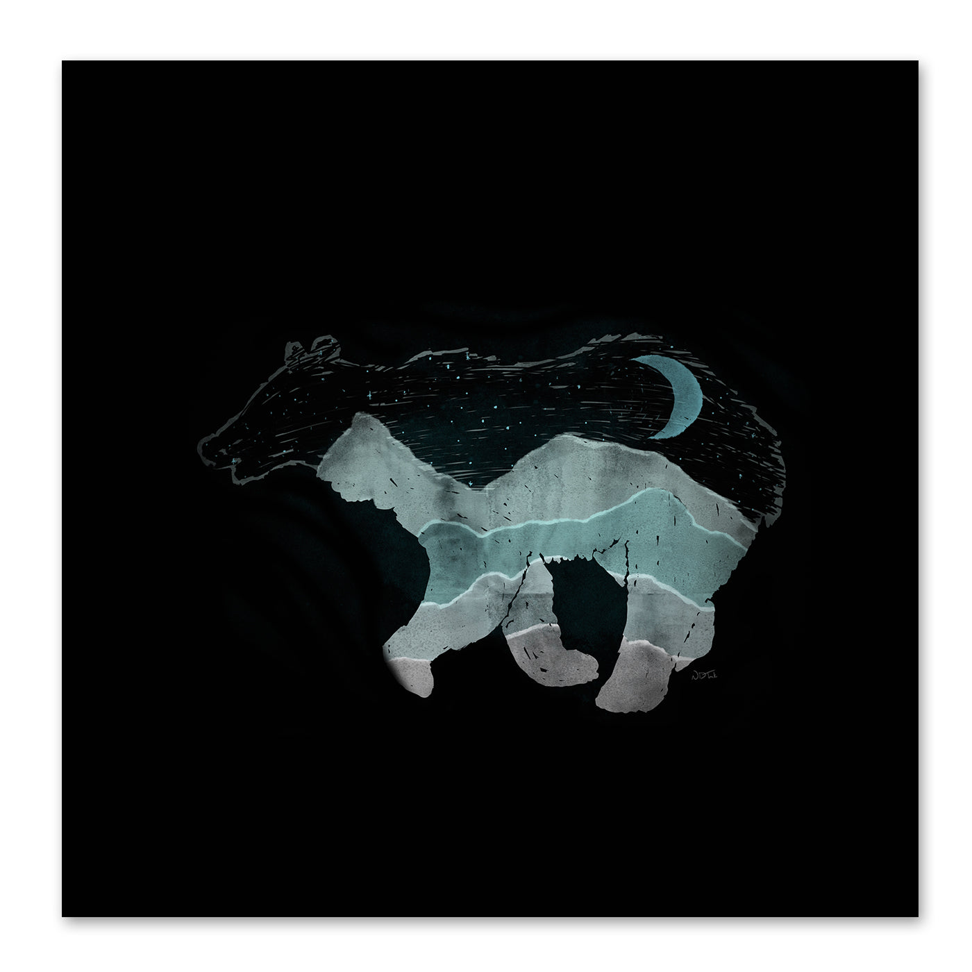 Ursa Major by NDTank Art Print - Art Print - Americanflat