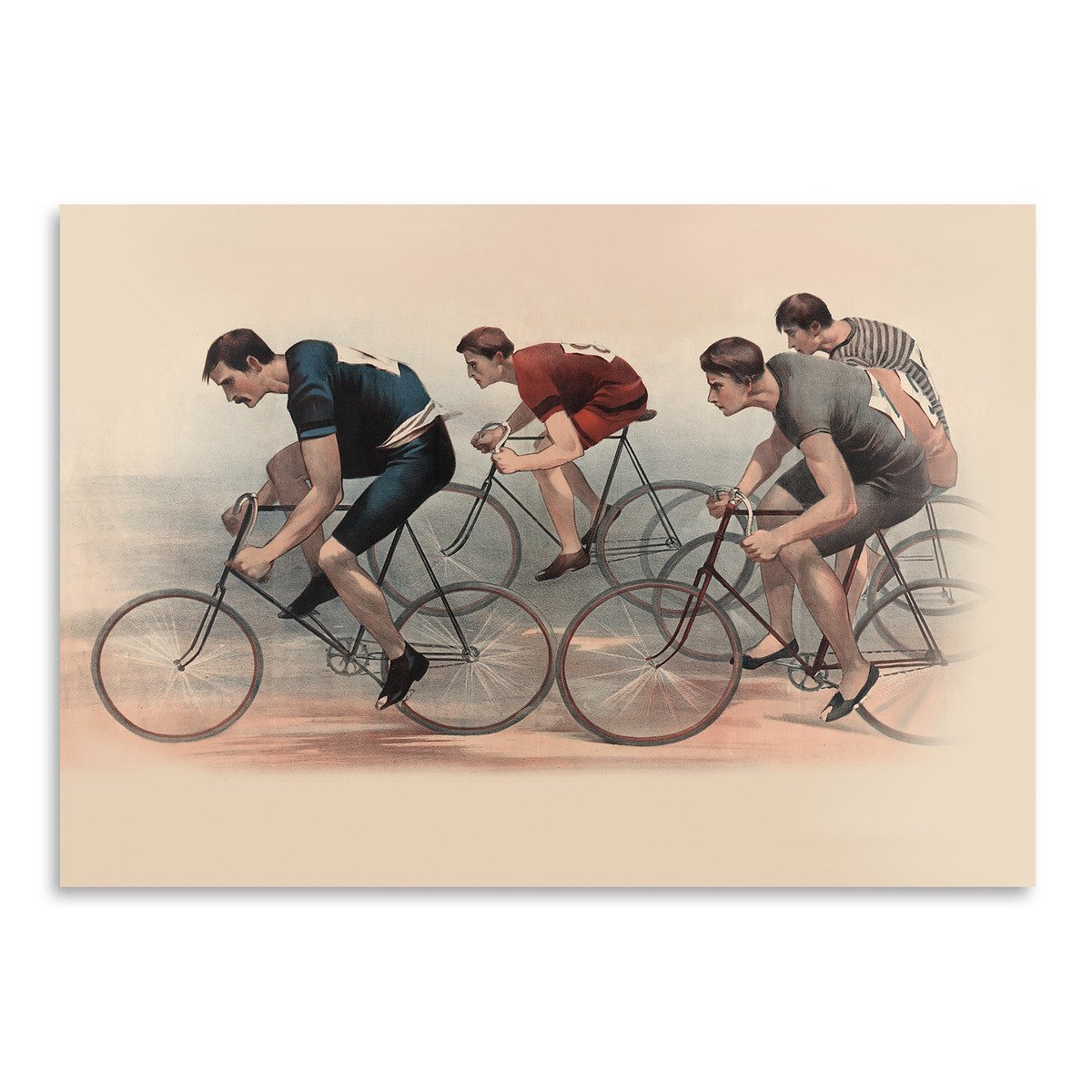 Bicycle Race by Found Image Press Art Print - Art Print - Americanflat