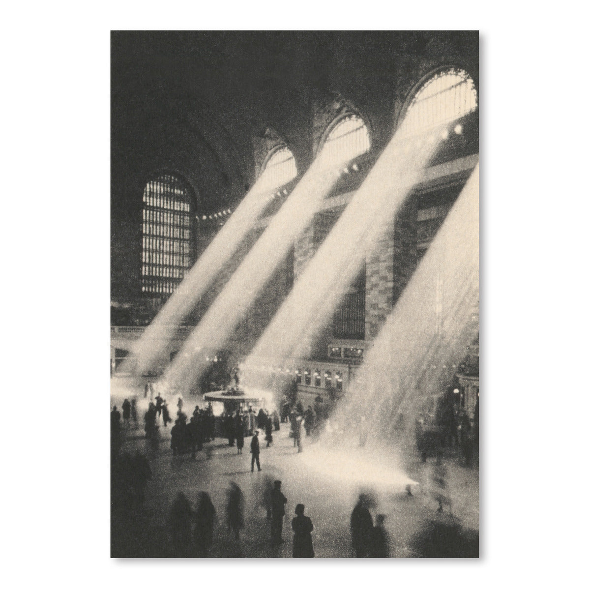 Light In Grand Central Station by Found Image Press Art Print - Art Print - Americanflat