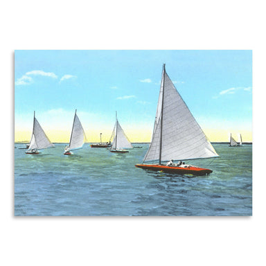 Regatta by Found Image Press Art Print - Art Print - Americanflat