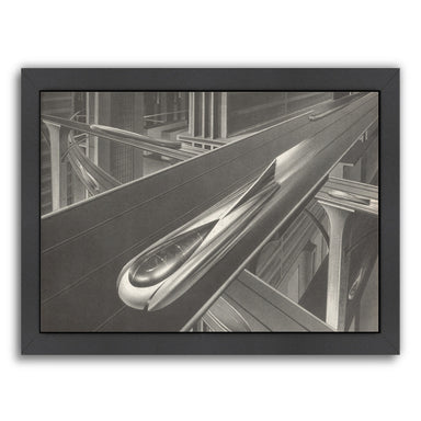 Transportation Of The Future by Found Image Press Framed Print - Wall Art - Americanflat