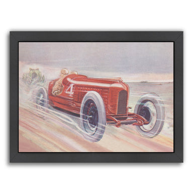 Vintage Racing Car 1 by Found Image Press Framed Print - Wall Art - Americanflat