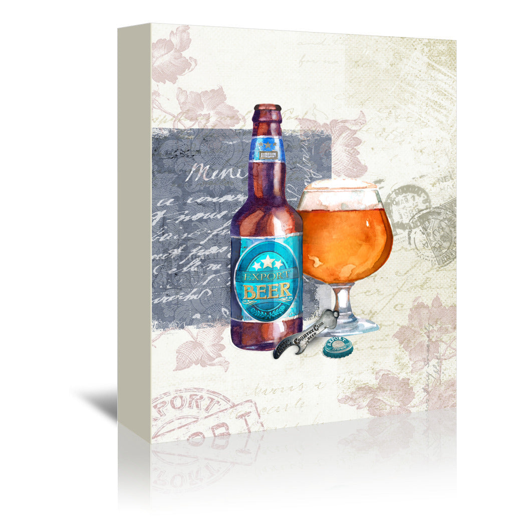 Designer Beer  by Harrison Ripley Wrapped Canvas - Wrapped Canvas - Americanflat