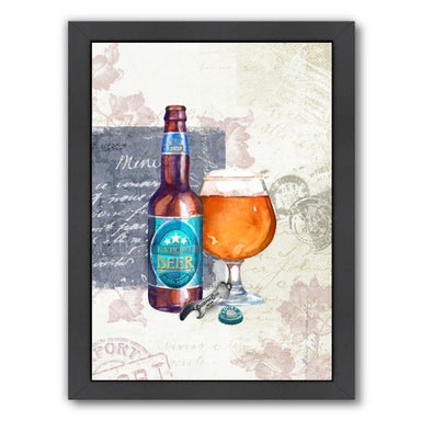 Designer Beer  by Harrison Ripley Framed Print - Wall Art - Americanflat