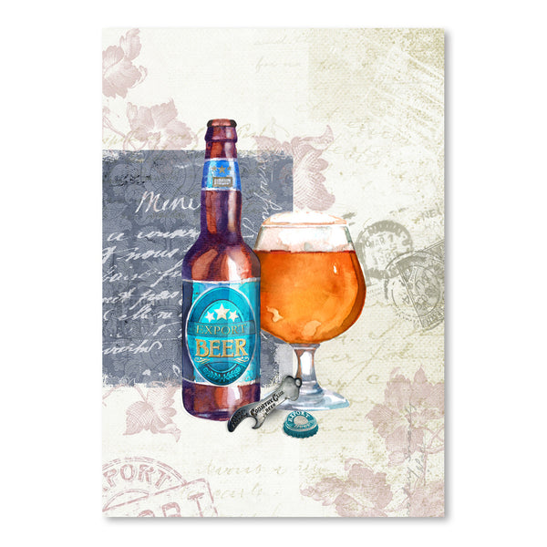 Designer Beer  by Harrison Ripley Art Print