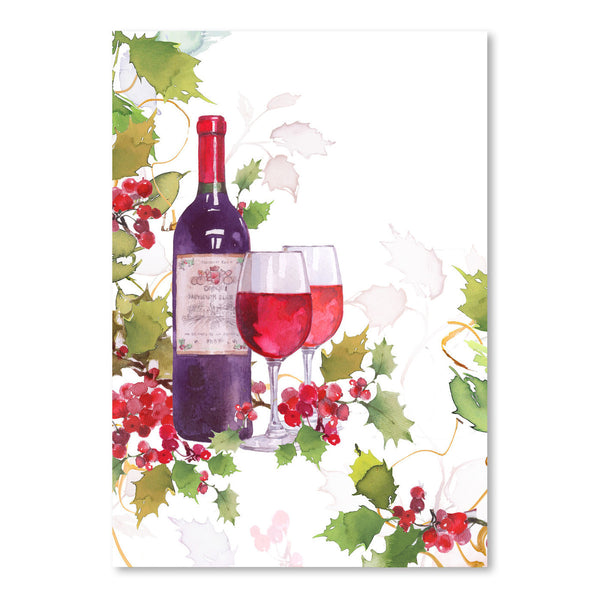 Holly & Wine by Harrison Ripley Art Print