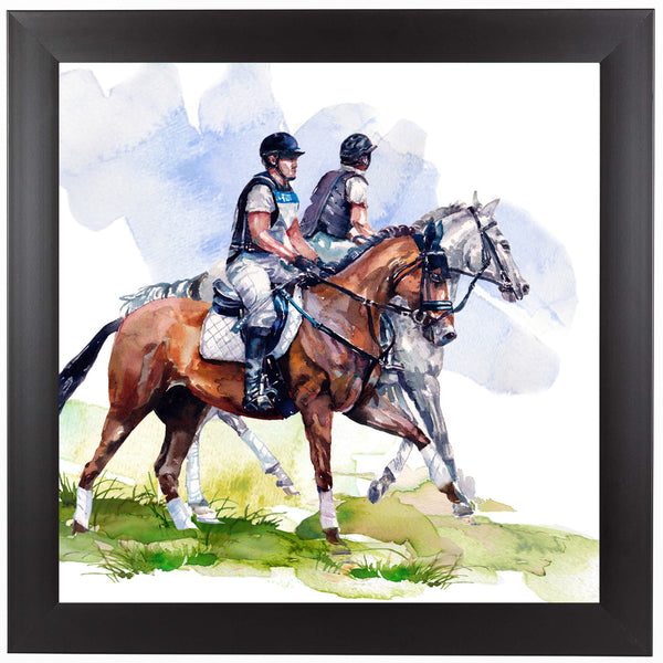 Morning Gallop by Harrison Ripley Framed Print