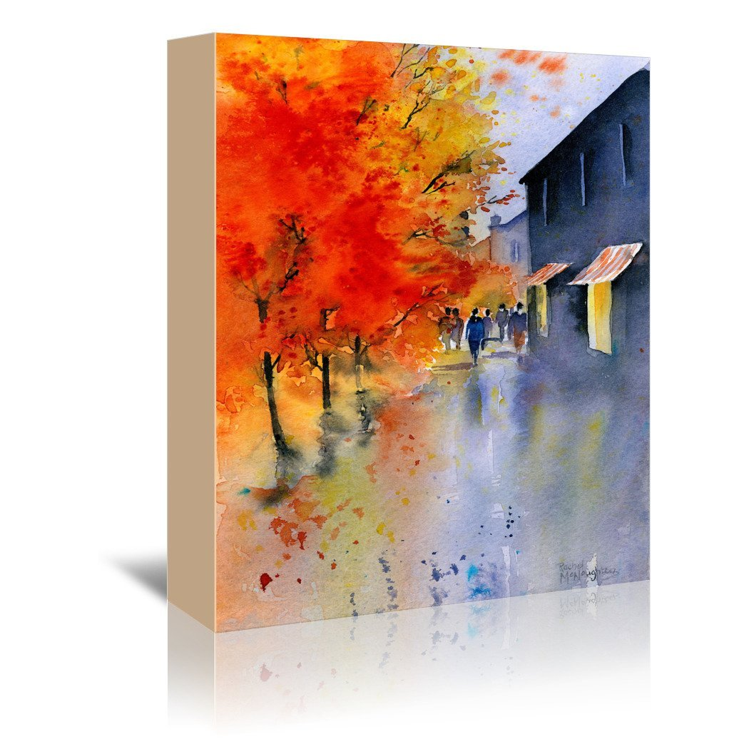 Autumn Evening by Rachel McNaughton Wrapped Canvas - Wrapped Canvas - Americanflat