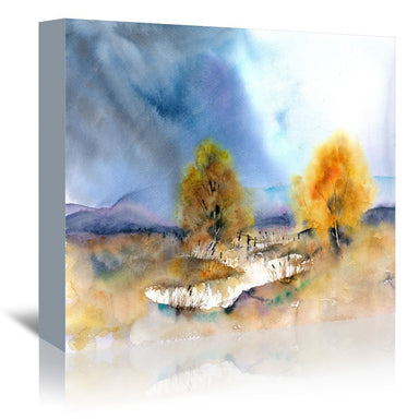 Autumn Sun by Rachel McNaughton Wrapped Canvas - Wrapped Canvas - Americanflat