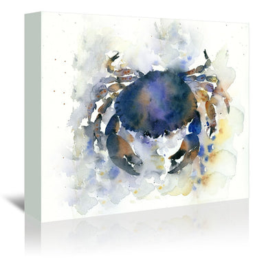 Blue Crab by Rachel McNaughton Wrapped Canvas - Wrapped Canvas - Americanflat