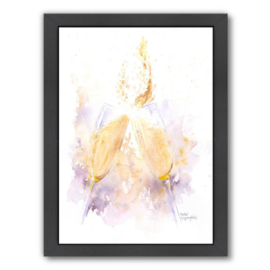 Champagne Clink by Rachel McNaughton Framed Print - Americanflat