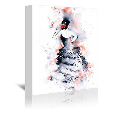 Flamenco 1 by Rachel McNaughton Wrapped Canvas - Wrapped Canvas - Americanflat