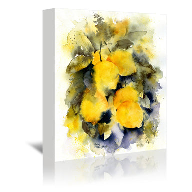 Lemon Tree by Rachel McNaughton Wrapped Canvas - Wrapped Canvas - Americanflat