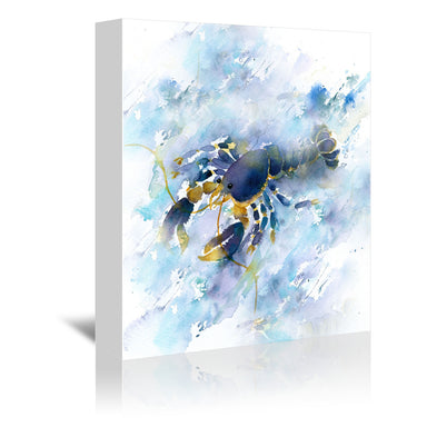 Lobster by Rachel McNaughton Wrapped Canvas - Wrapped Canvas - Americanflat