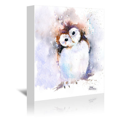 Owl by Rachel McNaughton Wrapped Canvas - Wrapped Canvas - Americanflat
