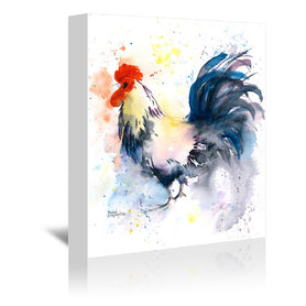 Strutting Your Stuff by Rachel McNaughton Wrapped Canvas