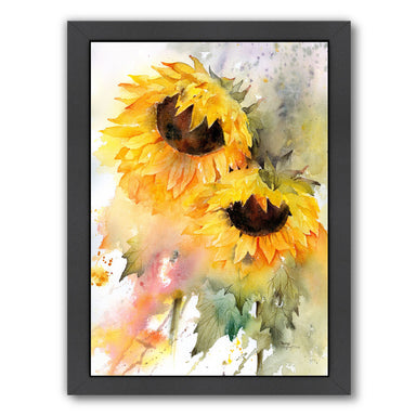 Sunflower Duo by Rachel McNaughton Framed Print - Americanflat