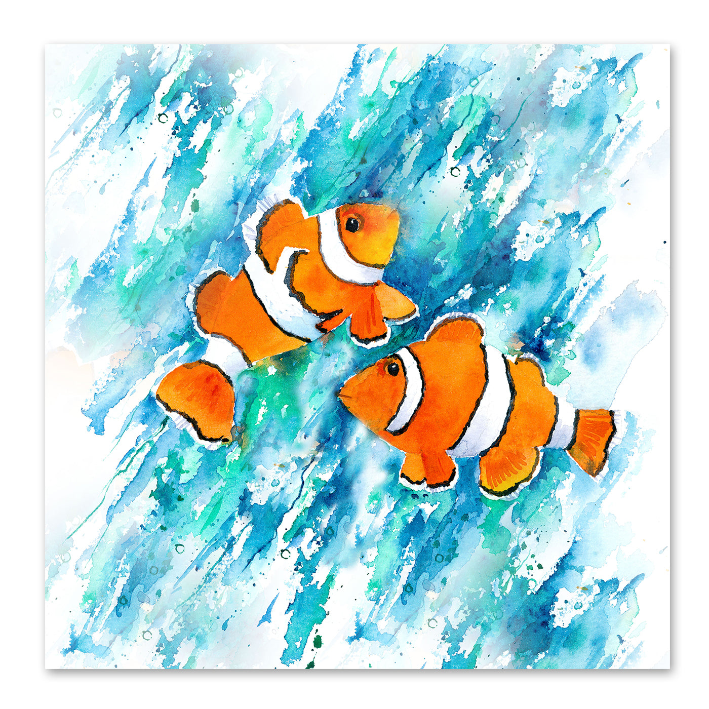 Clown Fish by Rachel McNaughton Art Print - Art Print - Americanflat