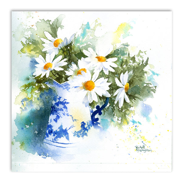 Daisies by Rachel McNaughton Art Print