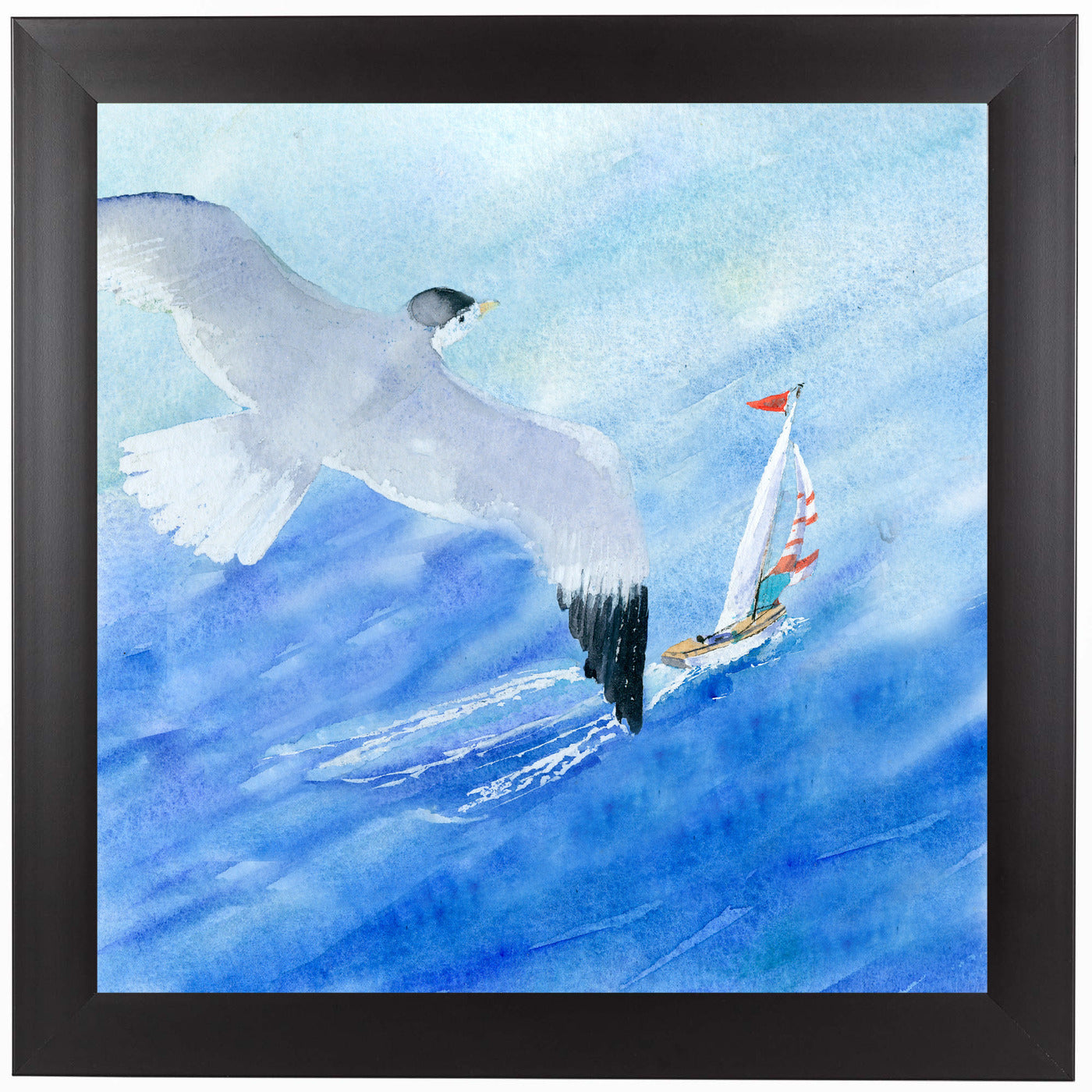 Flight And Sail by Rachel McNaughton Framed Print