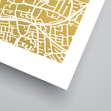 London by The Gold Foil Map Company Art Print - Art Print - Americanflat