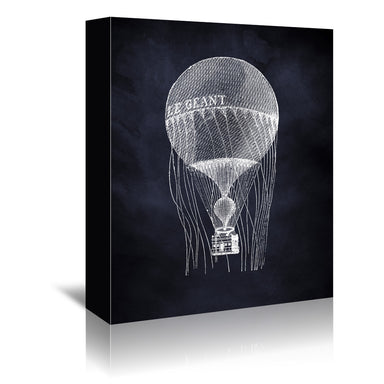Le Geant Balloon by Coastal Print & Design Wrapped Canvas - Wrapped Canvas - Americanflat