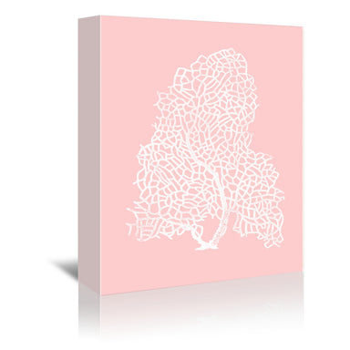 Mil Pink Gorgonian by Coastal Print & Design Wrapped Canvas - Wrapped Canvas - Americanflat