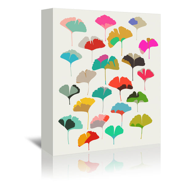 Ginkgo 2 by Garima Dhawan Wrapped Canvas