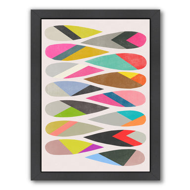 Harmony 3 by Garima Dhawan White Framed Print - Wall Art - Americanflat