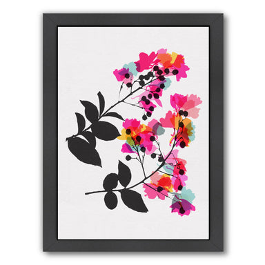 Myrtle 1 by Garima Dhawan Black Framed Print - Wall Art - Americanflat