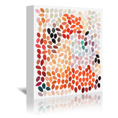 Rain 4 by Garima Dhawan Wrapped Canvas - Wrapped Canvas - Americanflat