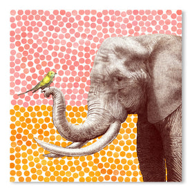New Friends 2 by Garima Dhawan Art Print