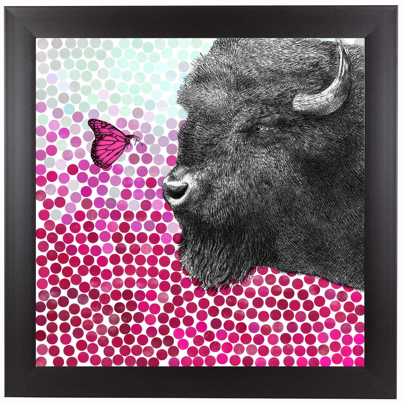 New Friends 4 by Garima Dhawan Framed Print