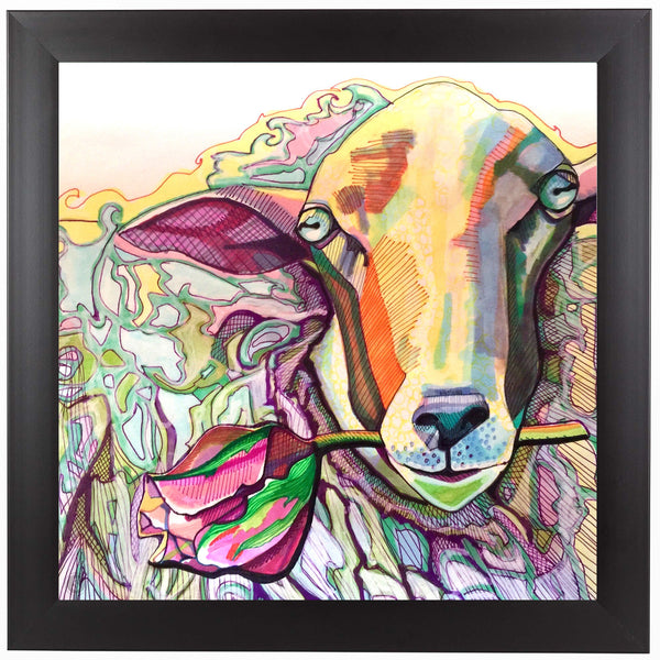 Easter Lamb by Solveig Studio Framed Print