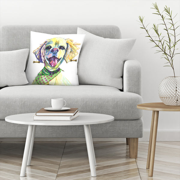 Cocker Spaniel by Solveig Studio Decorative Pillow