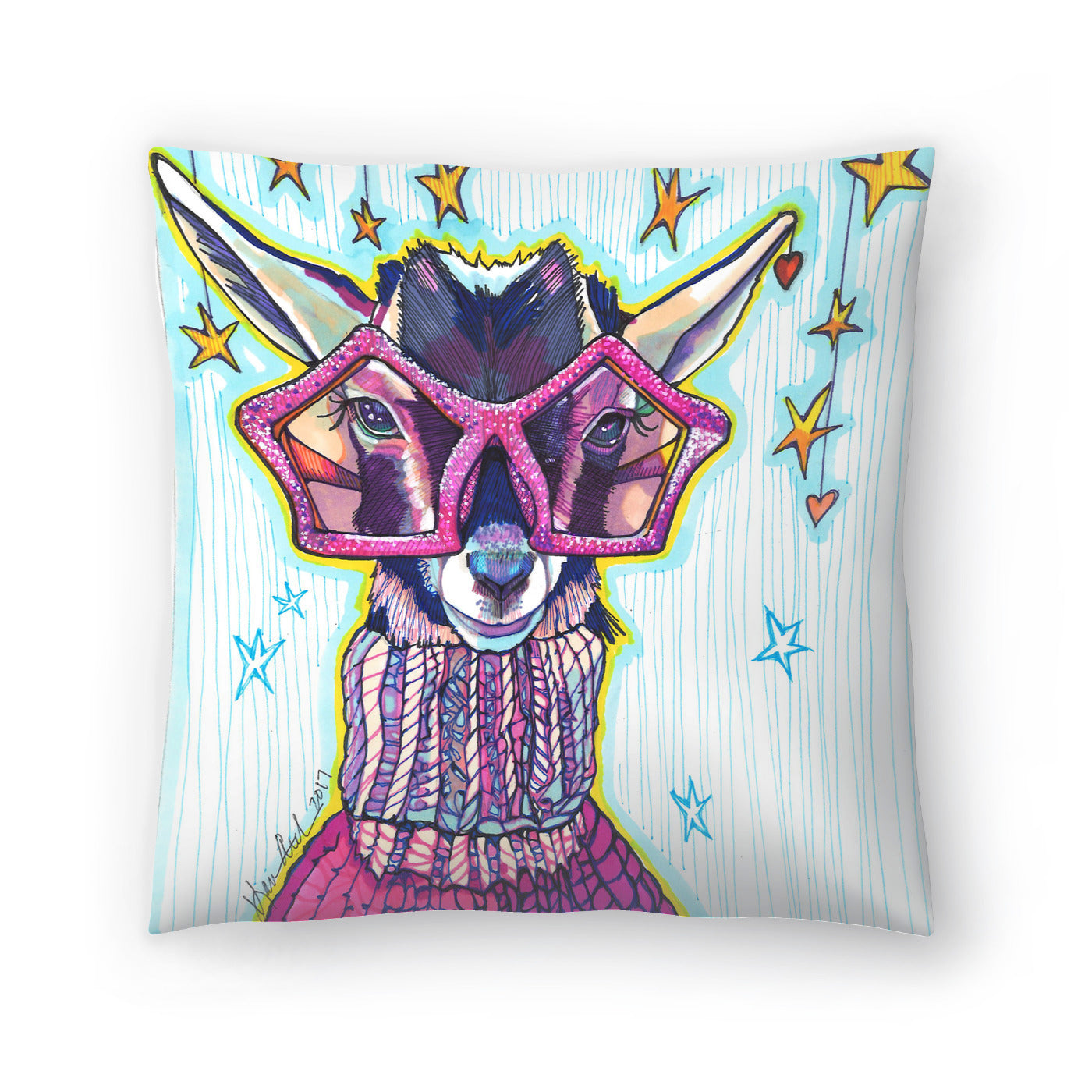 Goats Of Anarchy by Solveig Studio Decorative Pillow - Decorative Pillow - Americanflat