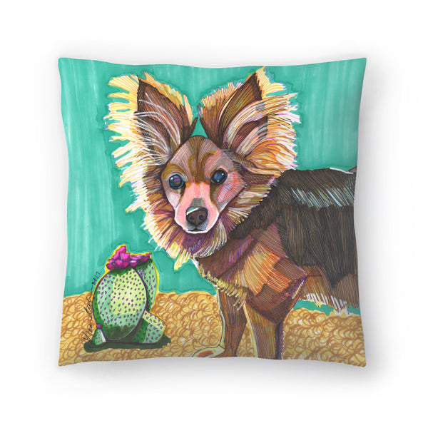 Pomeranian by Solveig Studio Decorative Pillow