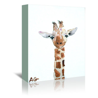 Giraffe by Allison Gray Wrapped Canvas - Wrapped Canvas - Americanflat
