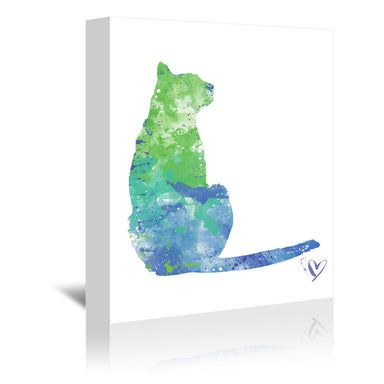 House Cat by Allison Gray Wrapped Canvas - Wrapped Canvas - Americanflat