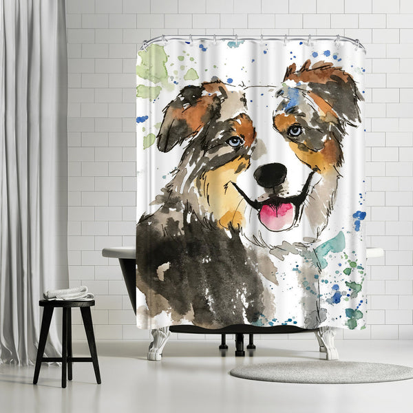 Crosby by Allison Gray Shower Curtain