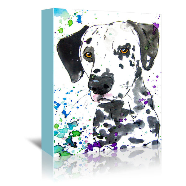 Dalmatian by Allison Gray Wrapped Canvas