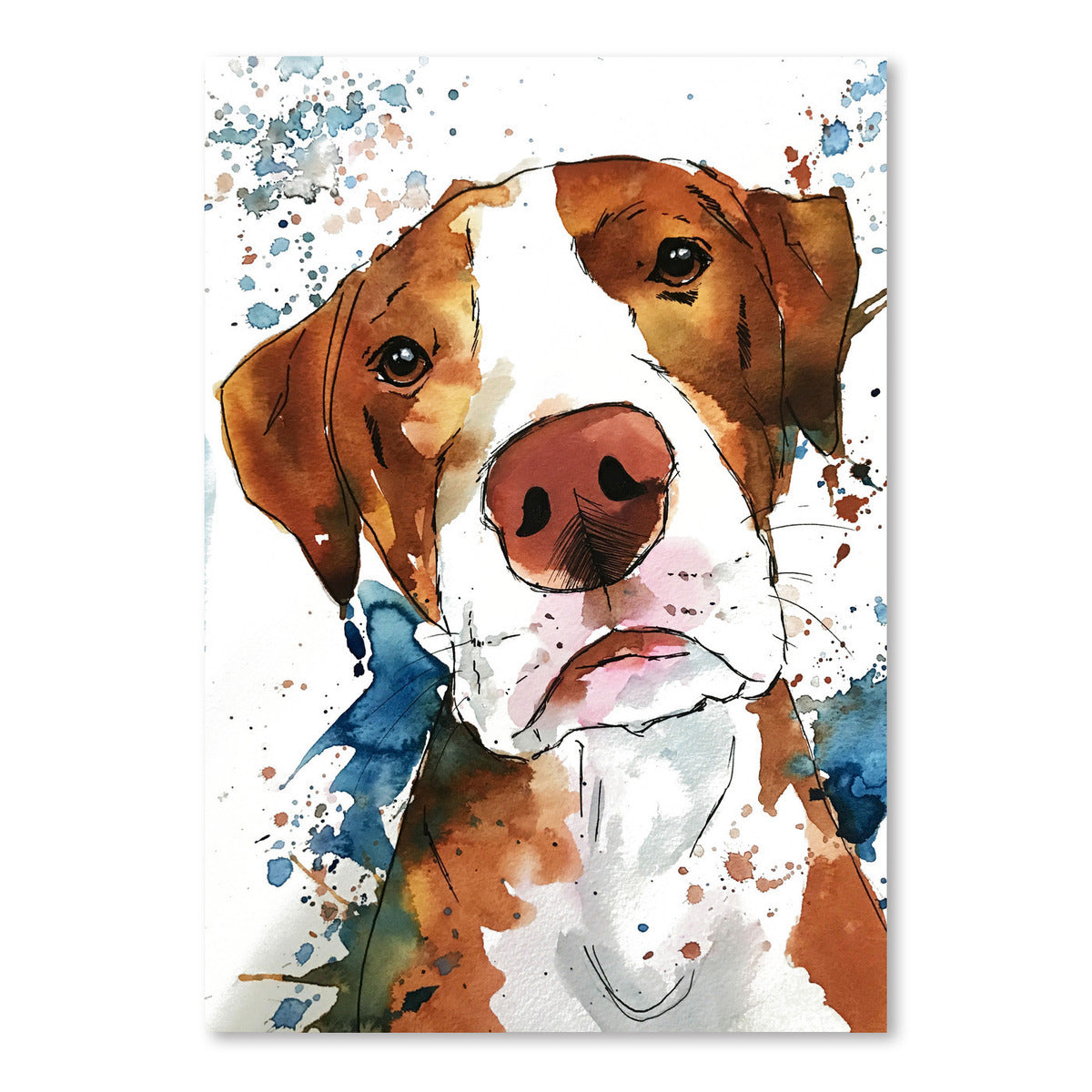Dodger by Allison Gray Art Print - Art Print - Americanflat