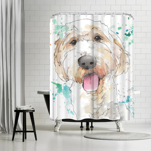 Hudson by Allison Gray Shower Curtain