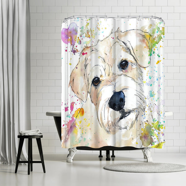 Jasmine by Allison Gray Shower Curtain